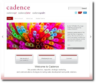 Cadence-website thumbnail