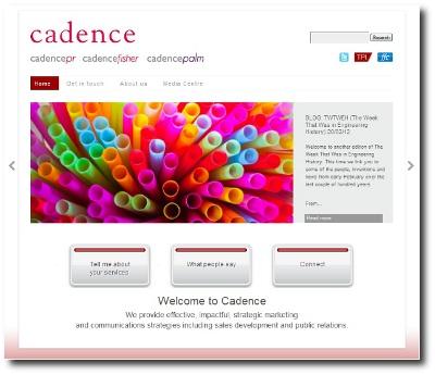 Cadence-website thumbnail